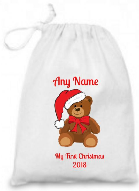 First Christmas Bag with Teddy 2017